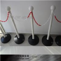 纯白色塑料圆头挂链栏杆座 LG-SL