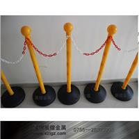 纯黄色塑料灌水防护栏 LG-SL