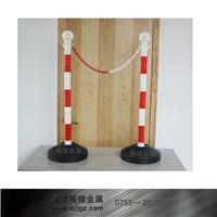 红白相间警示柱塑料栏杆座 LG-SL