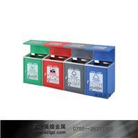 四分类烤漆多色户外桶 GPX-216