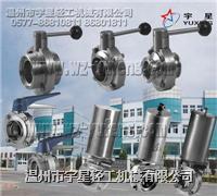 不鏽鋼蝶閥-衛生級 YX-DF