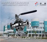 不鏽鋼無滯留球閥-衛生級 YX-WSJQF
