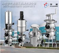 衛生級換向閥,衛生級截止閥,手動換向閥,氣動換向閥,球型換向閥,換向座閥,防混閥 HXF