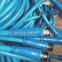 钢丝编织铠装矿用通信电缆MHYBV