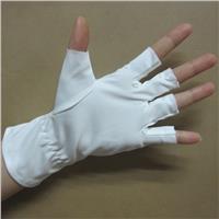 深圳超细纤维半指手套