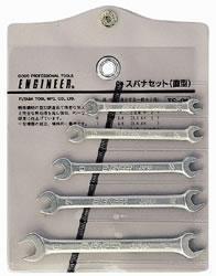 TS-01双开口扳手 日本工程师ENGINEER直型开口扳手 TS01