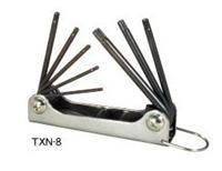 "TXN-6折叠型六角匙|日本""EIGHT""八牌超硬六角匙|TXN-8 TXN-6"