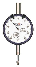 TM-105W百分表|日本得乐TECLOCK表盘式百分表TM105W  TM-105W