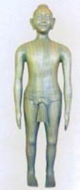 人體針灸模型|仿古針灸銅人 SMA05