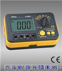 VC60B+ 絕緣電阻測試儀VC60B+  VC60B+  VC60B+