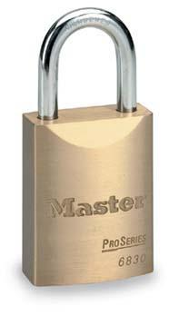 6彈子高安全銅鎖 Master lock,6850MCND,6830MCND,6彈子,不同花