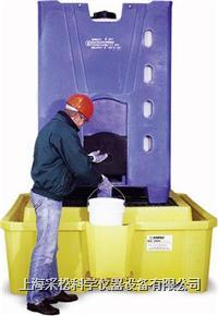 IBC中型集裝桶盛漏底盤 帶排汙口,Enpac,5469-YE-D