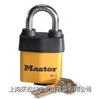 可换锁胆防风雨挂锁  Master lock,911DPF