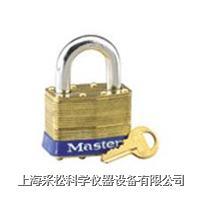 黃銅千層鎖(40mm寬鎖體) Master lock,4,4KA,7mm粗鎖鉤,短鉤19mm