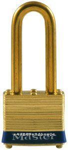 黃銅千層鎖(51mm寬鎖體) Master lock,6LF,6KALF,10mm粗鎖鉤,中鉤38mm
