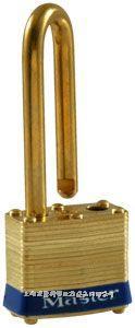 黃銅千層鎖(44mm寬鎖體) Master lock,2LF,2KALF,2KABLF,8mm粗鎖鉤,中鉤38