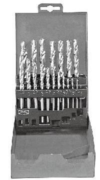 組套高速鋼鍍鈦麻花鉆頭 KT6-153-669
