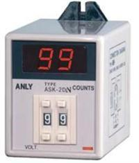 ASK-1D計數時間繼電器 ASK-1D