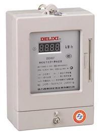 DDSY607單相電子式預付費電能表 DSSY607 3×100V 3×1.5(6)A