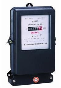 DTS607三相電子式電能表 DTS607 220/380V 1.0級 15(60)A485