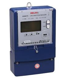 DSSD607三相三線電子式多功能電能表 DSSD607 380V 1.0級 1.5(6)A