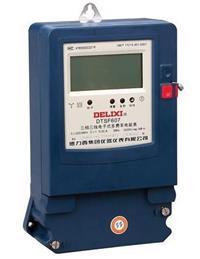 DTSF607三相電子式多費率電能表 DTSF607 3×220/380V 30(100)A