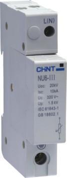 正??电涌保护器   NU6-Ⅲ     NU6-Ⅲ/F NU6-Ⅲ     NU6-Ⅲ/F