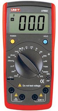 UT-602新型電感電容表|優利德UNI-T電容表 UT602