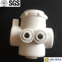 China origin Naike Brand Water Purifier Parts Plastic Faucet Diverter Valve