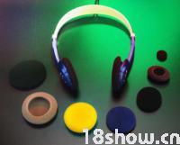 德國全開孔聚酯海綿 耳機、麥克風、喇叭圈專用特殊泡棉
