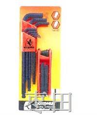超值型两组套装六角匙 14187-12587 14187-10999