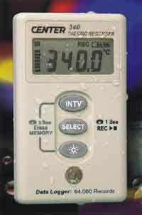 CENTER 340温度记录仪 CENTER 340