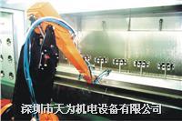 噴塗機器人的代理及周边设备的制作