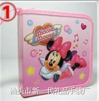 定做印刷外贸迪士尼米奇米尼卡通CD包 外贸光盘CD包 印刷CD碟包 光盘包 光盘袋 碟盒