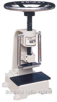 旋轉式切試片機(裁樣機)/橡膠試樣切片機  TSB046