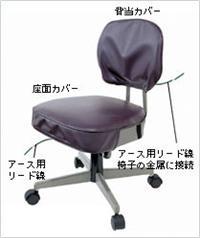日本ACHILLES防静电椅子D-101阿基里斯