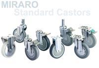 日本KANATSU静音MIRARO特殊设计脚轮