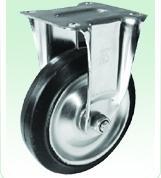 日本KANATSU静音TPSKE-100定向橡胶轮