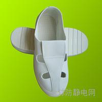 PU防静电四孔帆布鞋 X1001