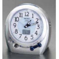 148x149x89mm [電波] 置時計 [シルバー] EA798CS-45