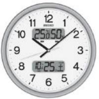 35cm [電波] 掛 時 計 EA798CC-9A