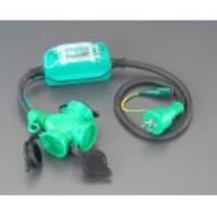 15A/1m[防雨型]漏電保護専用プラグ[ストレート型] EA940MH-11