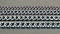 2.5mmx 1m [スチール/クロームメッキ]ショートマンテルチェーン EA980TH-21