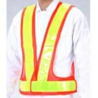 安全ベスト[橙/黃] EA983R-23