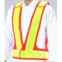 安全ベスト[橙/黃] EA983R-28