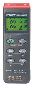 CENTER-304四通道溫度計|四通道測溫儀 CENTER-304