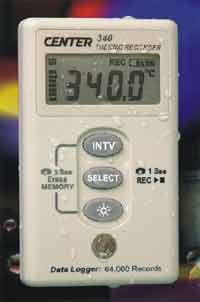 CENTER-340溫度記錄儀 CENTER-340