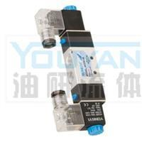 二位五通电磁阀 4V220-06 油研电磁阀 4V220-06