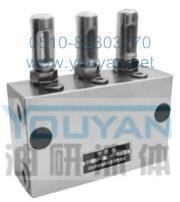 双线分配器 KW-22 KW-24 KW-26 油研双线分配器 YOUYAN双线分配器  KW-22 KW-24 KW-26