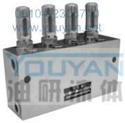 双线分配器 2SSPQ-L2 4SSPQ-L2 6SSPQ-L2 8SSPQ-L2 油研双线分配器 YOUYAN双线分配器   4SSPQ-L2 6SSPQ-L2 8SSPQ-L2